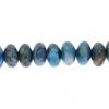Blue Crazy Lace Agate 8mm Rondelle (Flat Round) 35pcs Approx